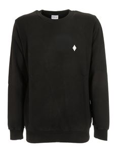 Marcelo Burlon County Of Milan - Cross Regular sweatshirt in black