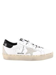Golden Goose - Hi Star leather sneakers in white