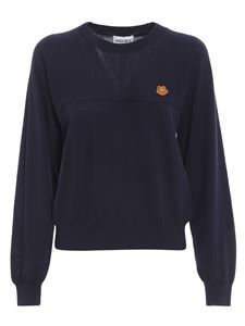 Kenzo - Tiger crest pullover in blue
