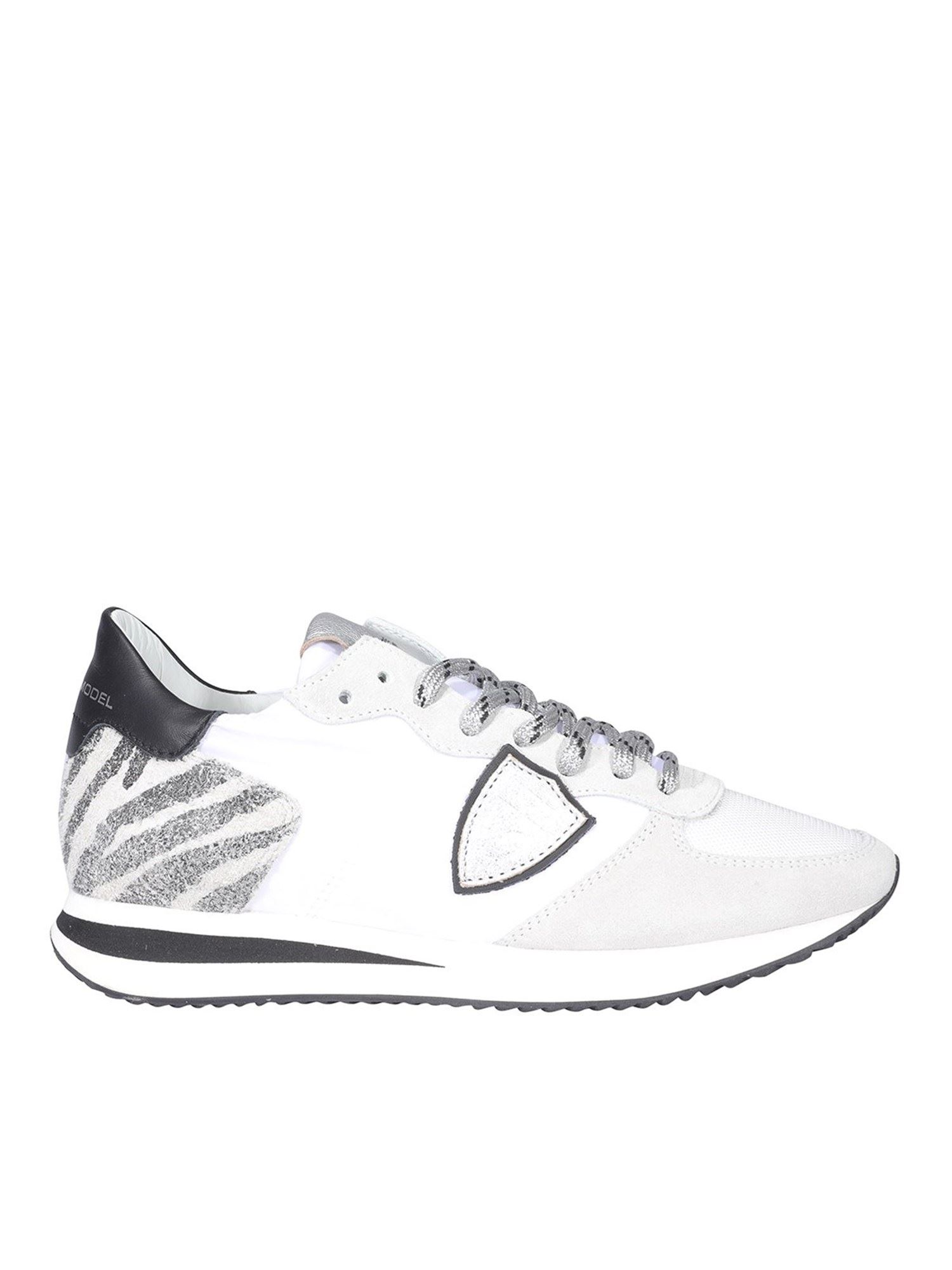 Philippe Model TRPX MONDIAL SNEAKERS IN WHITE
