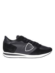 Philippe Model - Sneakers in pelle nere con logo