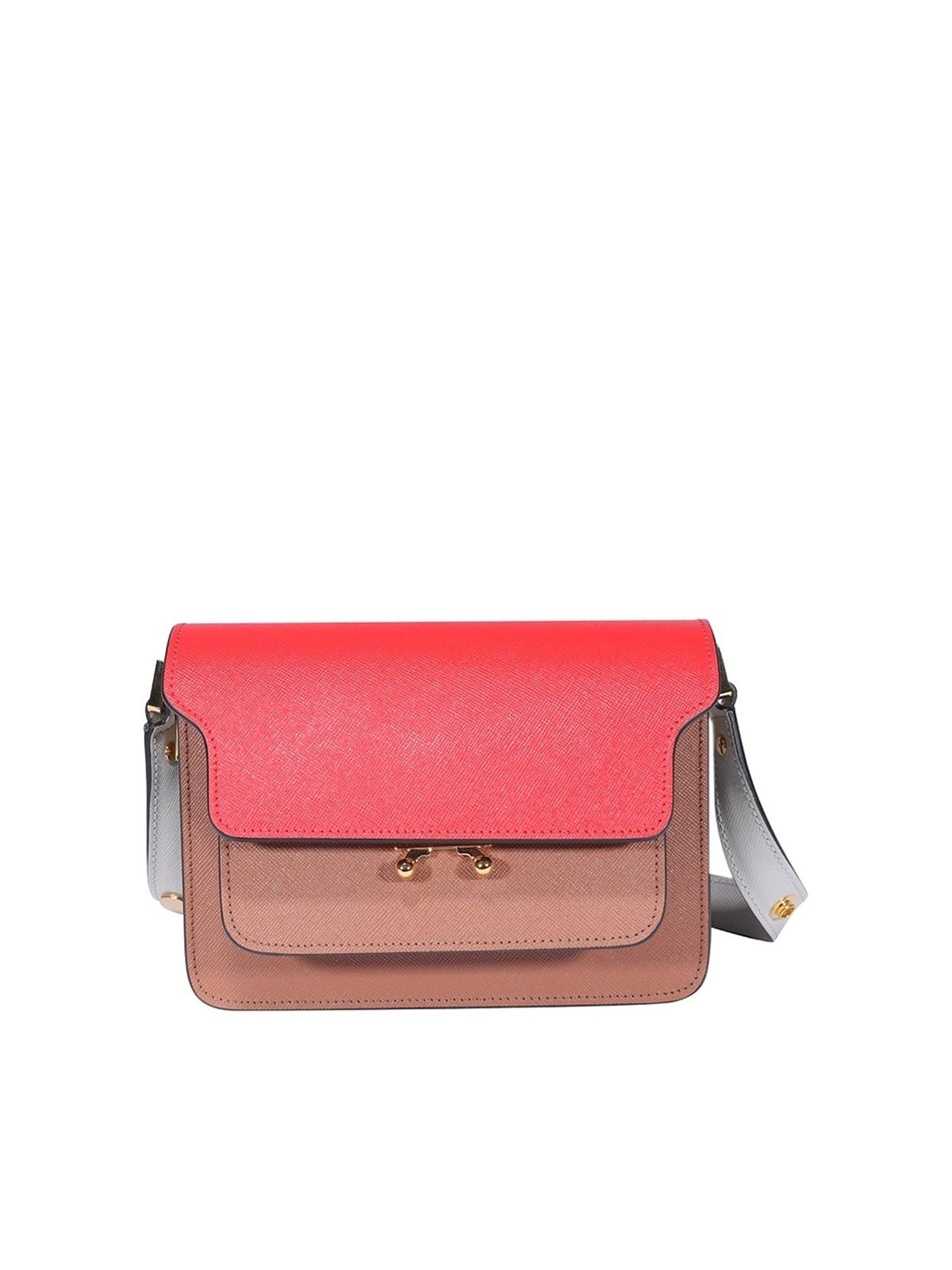 Marni TRUNK MINI BAG IN SHADES OF PINK
