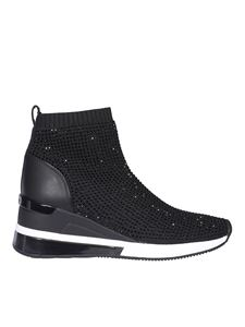 Michael Kors - Skyler sneakers in black