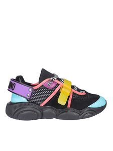 Moschino - Sneakers Roller Skates nere