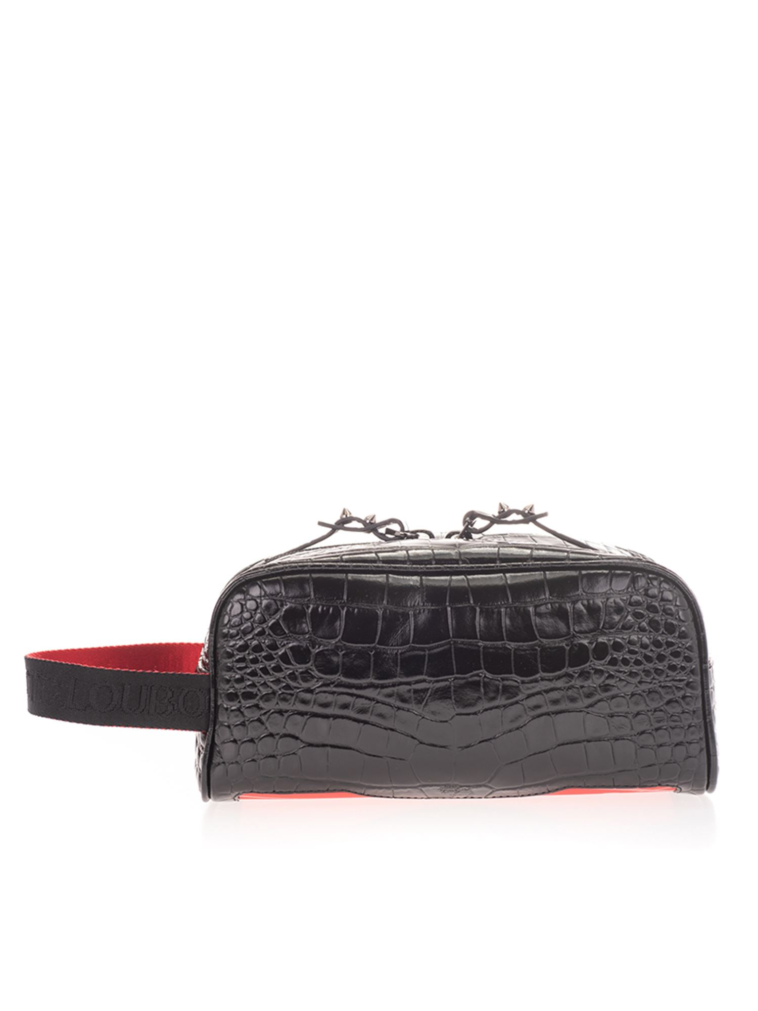 Christian Louboutin BLASTER MINI BEAUTY CASE IN BLACK