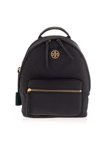 Tory Burch - Metal logo backpack in black