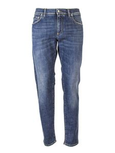 Dolce & Gabbana - Slim fit jeans in blue