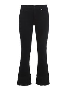 7 For All Mankind - Slim Illusion Fame jeans in black