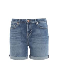 7 For All Mankind - Pier Boy shorts in blue