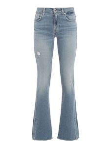7 For All Mankind - Bootcut Luxe Vintage Skywalk jeans in light blue