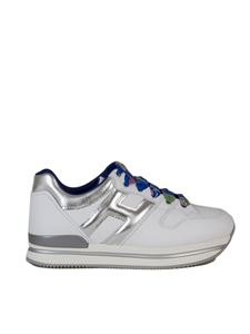 Hogan - H222 sneakers in white and silver