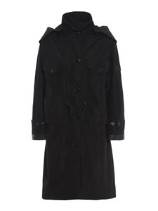 Burberry - Colney parka in black