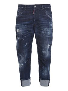 Dsquared2 - Combat jeans in blue