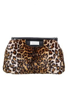 Maison Margiela - Glam Slam bag in animalier synthetic fur