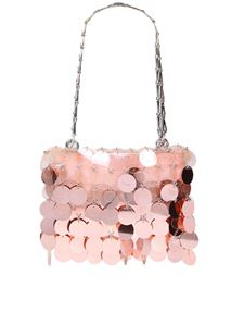 Paco Rabanne - Sparkle clutch bag in pink