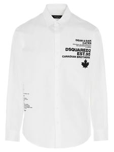 Dsquared2 - Shirt with print in white