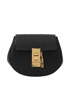 Chloé - Drew mini backpack in black
