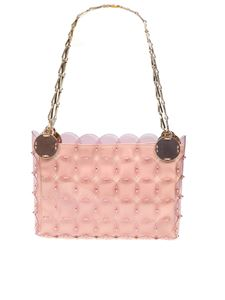 Paco Rabanne - Sequins clutch in pink