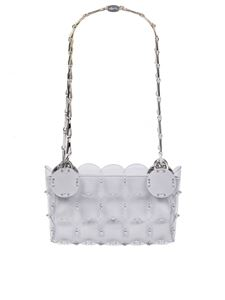 Paco Rabanne - Sequins clutch in silver
