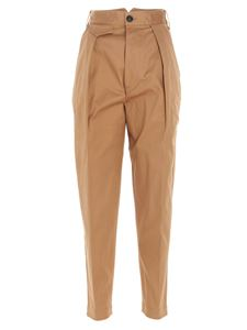 Dsquared2 - Camel-colored high-waisted pants