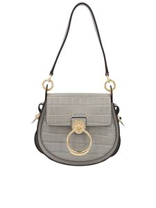Chloé - Borsa Tess piccola color Stormy Grey