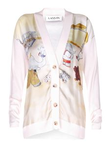 Lanvin - Babar The Elephant cardigan in white
