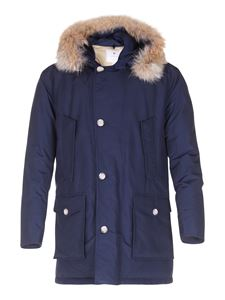 Woolrich - Arctic Parka down coat in blue