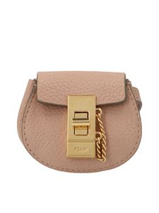 Chloé - Drew mini belt bag in Cement pink
