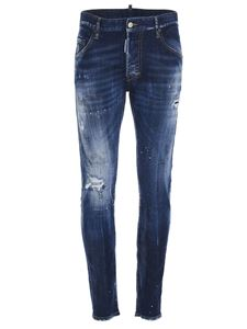 Dsquared2 - Faded jeans in blue