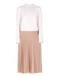 Semicouture - Beige pleated skirt