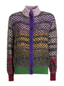 Missoni - Wool blend cardigan in multicolor