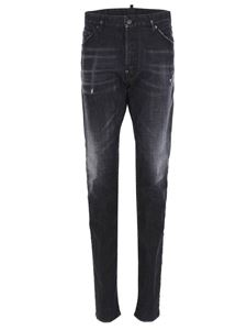 Dsquared2 - Faded effect jeans in black