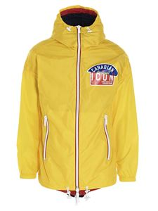 Dsquared2 - Windbraker Icon jacket in yellow