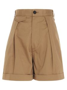 Dsquared2 - Shorts with pockets in camel color