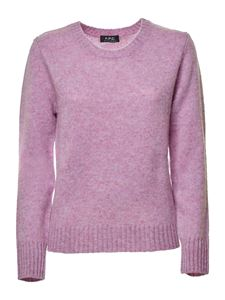 A.P.C. - Wool sweater in pink