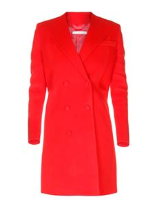 Givenchy - Red double breasted coat