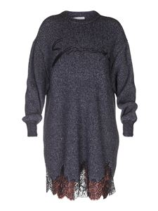 Givenchy - Knitted wool dress in grey