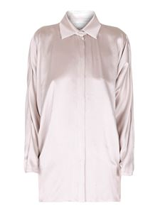 Max Mara - Porfido embellished silk satin shirt