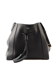Mulberry - Millie black grained leather small bag