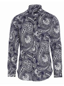 Etro - Paisley shirt in blue
