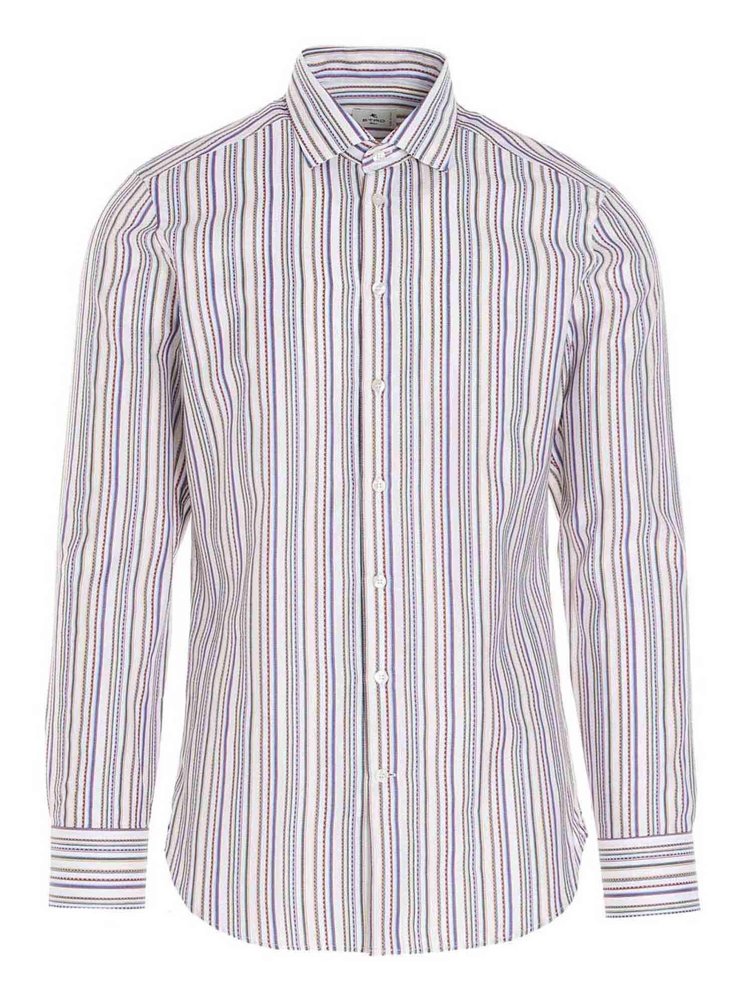 Etro Cottons STRIPED SHIRT IN MULTICOLOR
