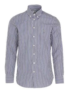 Etro - Striped shirt in blue and white