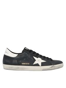 Golden Goose - Sneakers Superstar nere