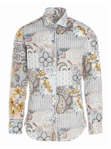 Etro - Patchwork printed shirt in multicolor