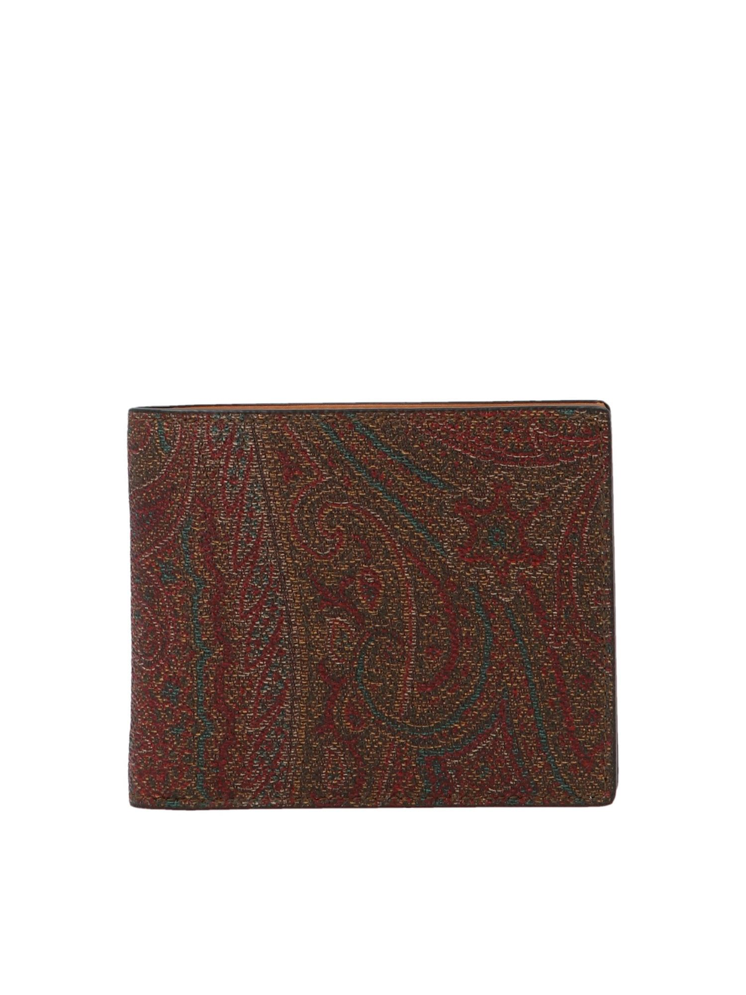 Etro PAISLEY WALLET IN MULTICOLOR