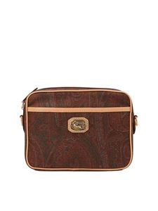Etro - Paisley crossbody bag in multicolor