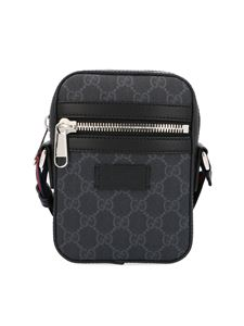 Gucci - Shoulder bag with GG motif in black