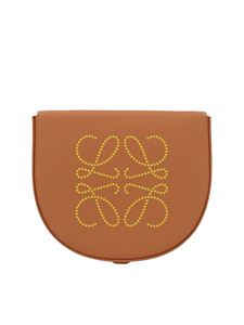 Loewe - Heel Anagram mini bag in brown