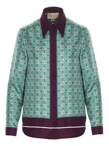 Gucci - Shirt with GG motif in multicolor