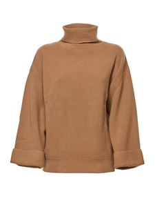 A.P.C. - Flared sleeve pullover in camel color